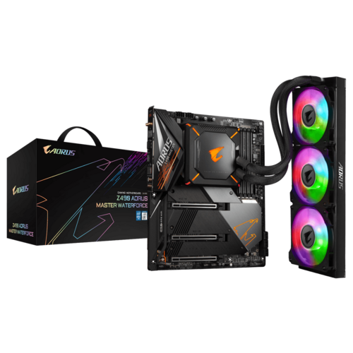 Z490 AORUS MASTER WATERFORCE (rev. 1.0) - Motherboard