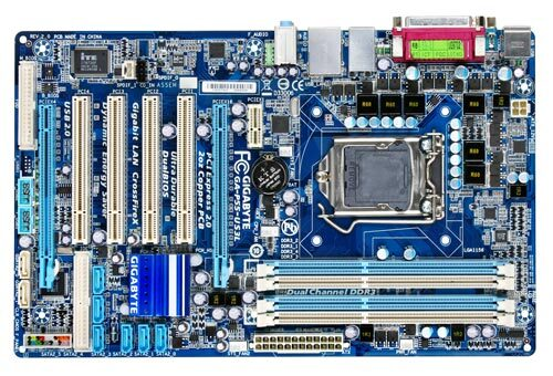 GA-P55-US3L (rev. 2.0) - Motherboard