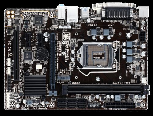 新品 技嘉 GA-B150M-D3V DDR3 1151腳位 Intel B150晶片 DDR3 M.2插槽 原廠保固