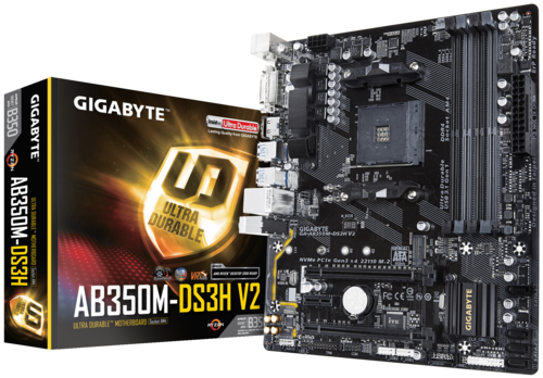 GA-AB350M-DS3H V2 (rev. 1.1) - Motherboard