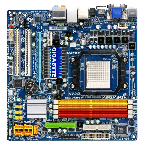 GA-MA785GM-US2H (rev. 1.0) - Motherboard