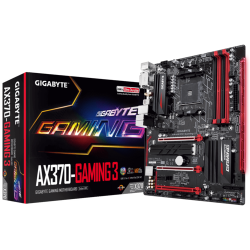 GA-AX370-Gaming 3 (rev. 1.x) - Motherboard