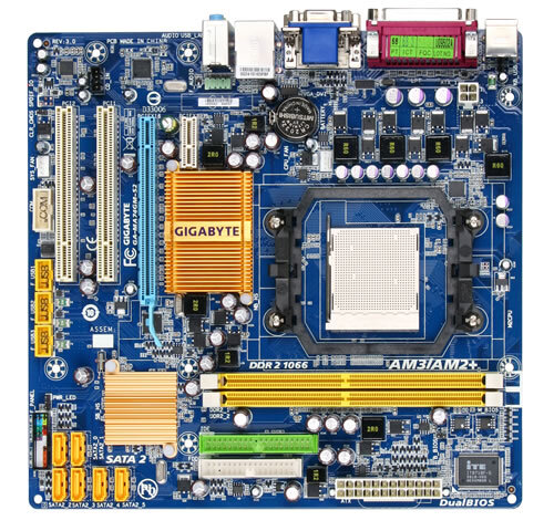 GA-MA74GM-S2 (rev. 3.0) - Motherboard