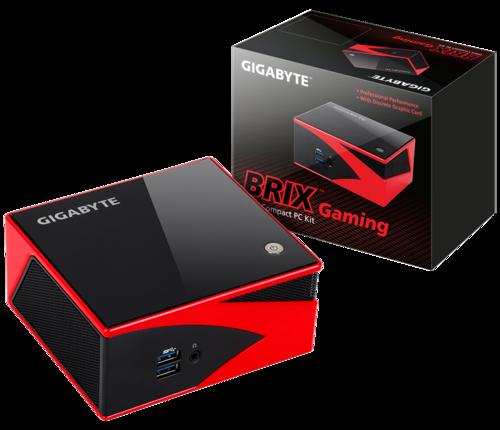 Mini pc with discrete graphics. Gigabyte BRIX GB-BXA8G