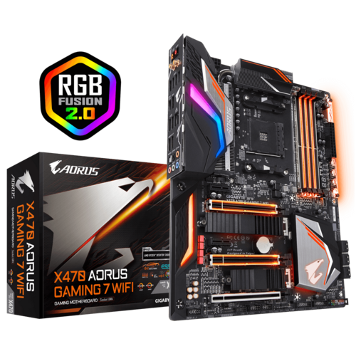 X470 AORUS GAMING 7 WIFI (rev. 1.1) - マザーボード