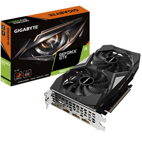 GeForce® GTX 1660 Ti OC 6G