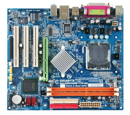 GA-8I865GME-775-RH-AS (rev. 3.9) - Motherboard