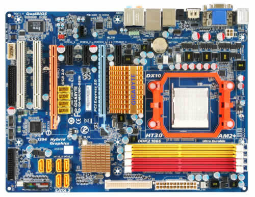 GA-MA78G-DS3H (rev. 1.0) - Motherboard