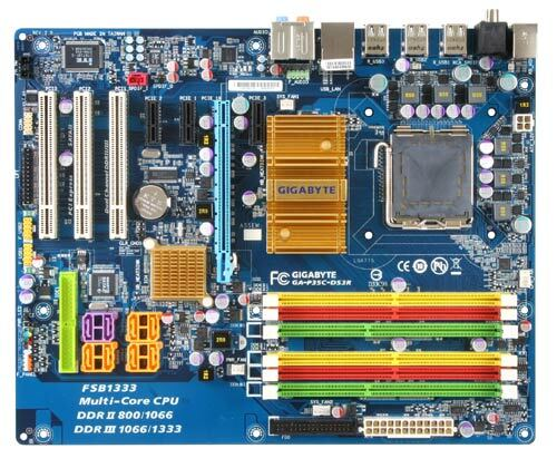 GA-P35C-DS3R (rev. 2.0) - Motherboard