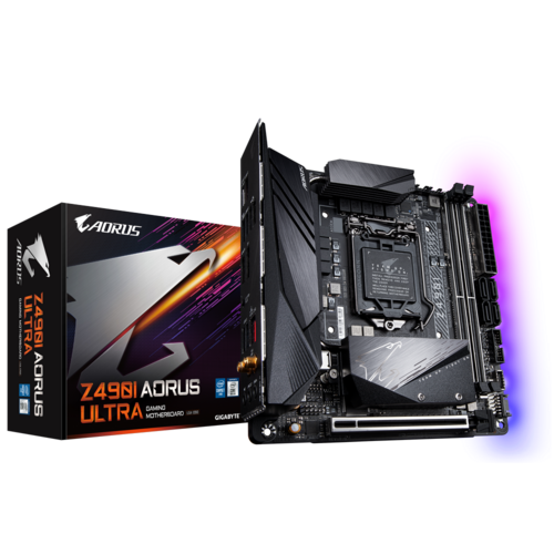 placa madre Z490 AORUS ULTRA