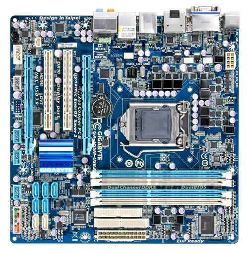 GA-H55M-USB3 (rev. 1.0) - Mainboards
