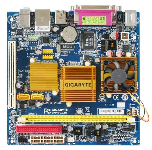 GA-GC220 (rev. 1.0) - Motherboard