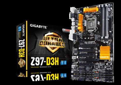 Ga Z97 D3h Rev 1 0 Overview Motherboard Gigabyte Global