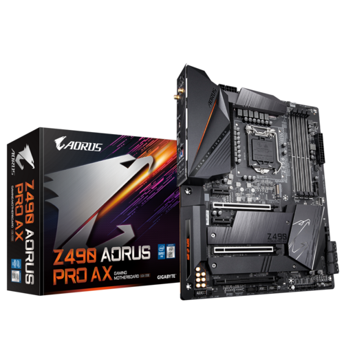 Image result for Z490 AORUS PRO AX