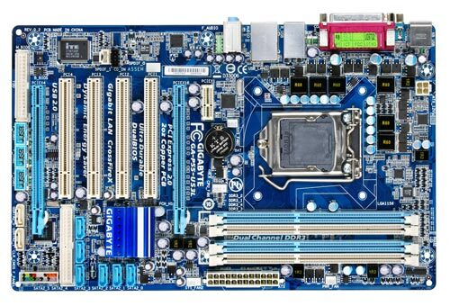 GA-P55-US3L (rev. 1.0) - Motherboard