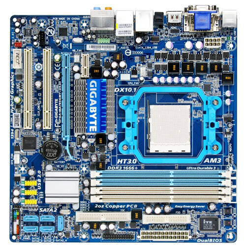 GA-MA785GMT-US2H (rev. 1.0) - Motherboard
