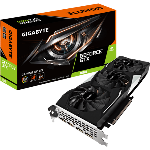 GeForce® GTX 1660 GAMING OC 6G